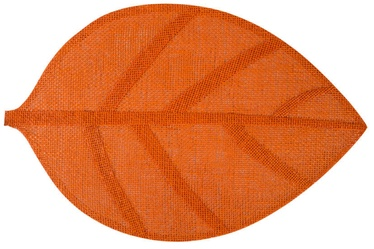 Home4you Leaf Table Mat Orange