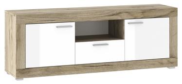 ТВ стол Tuckano Warsaw TB-150 Oak/White, 1510x370x550 мм