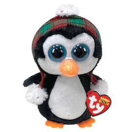 Pliušinis žaislas TY Cheer pingvinas 15cm, ty36241