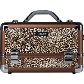Inglot Leopard Leather Pattern Kc-m34 Makeup Case