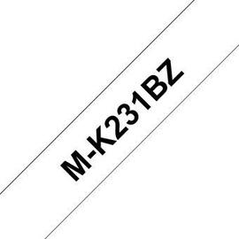 Этикет-лента для принтеров Brother M-K231BZ, 800 см