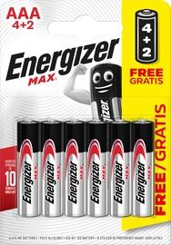 Energizer PowerSeal Technology Battery AAA x 6
