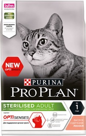 Purina Pro Plan Sterilised OPTISenses Adult Salmon 10kg