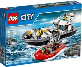 Konstruktorius LEGO City Police Patrol Boat 60129