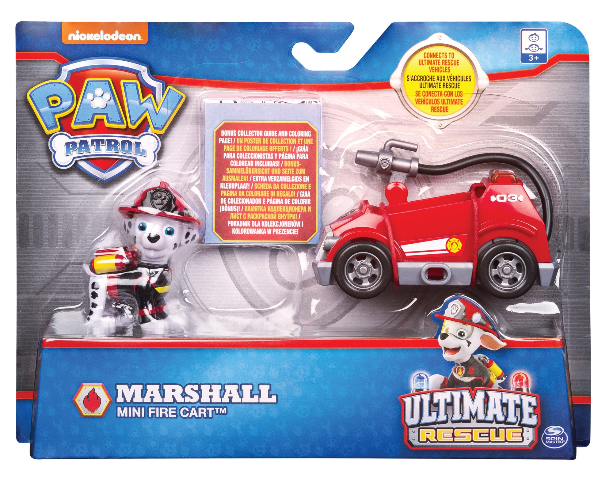 Cars Autos Kleurplaten.Spin Master Nickelodeon Paw Patrol Ultimate Rescue Mini 6044194 Assort