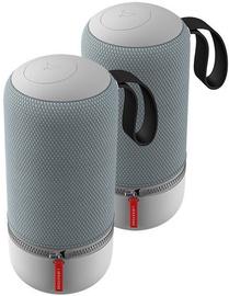 Libratone Zipp Mini 2 Bluetooth Speaker 2-Pack Frosty Grey