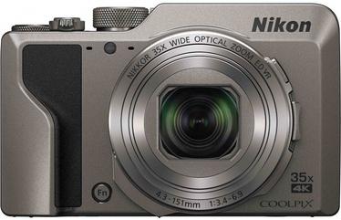 Nikon Coolpix A1000 Silver+16GB+Case