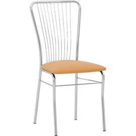 Valgomojo kėdė Neron Chrom V17, šviesiai ruda