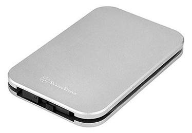 "SilverStone External Enclosure MMS02 2.5"" HDD/SSD USB 3.1 Silver"