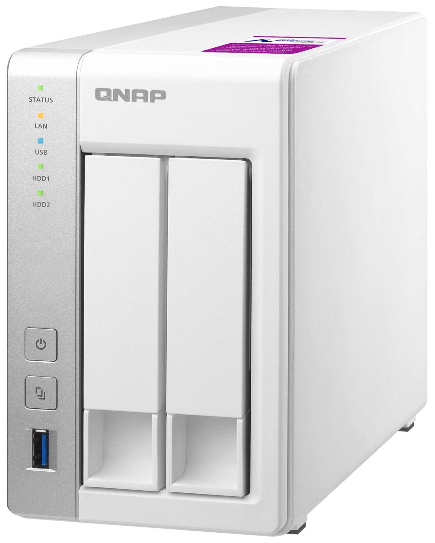 QNAP Systems TS-231P2-4G 2-Bay NAS 4TB