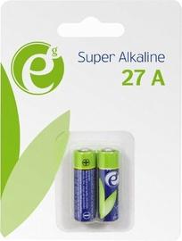 Gembird Energenie Alkaline 27A Battery 12V 2-Pack