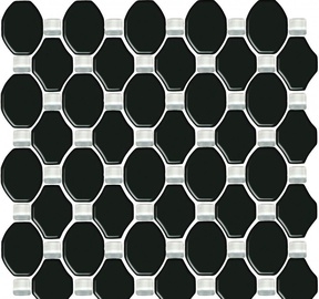 Paradyz Ceramika Secret Mosaic Tiles 29.8x29.8cm Black