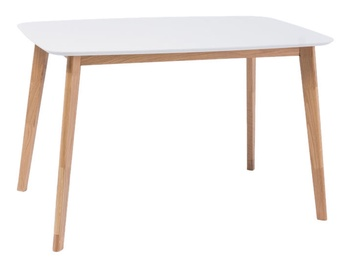 Signal Meble Mosso Dining Table White/Oak