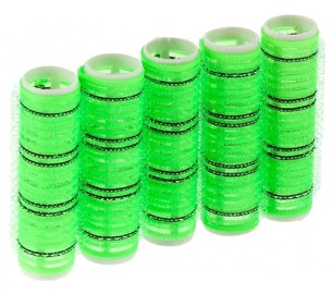 Zenner Pack Of 5 Curlers 20mm Green