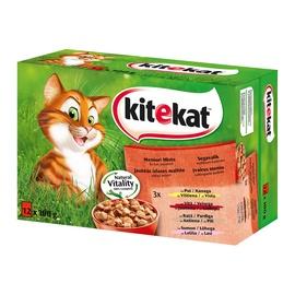 Konservuotas ėdalas katėms Kitekat, 12 x 100 gr