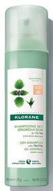 Sausais šampūns Klorane With Nettle Oily/Dark, 150 ml