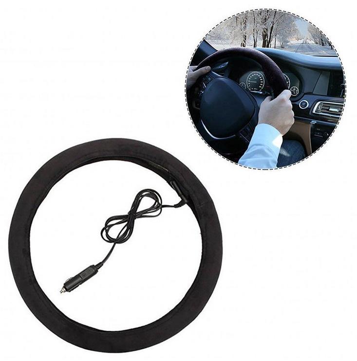Оплетка руля Bottari Steering Wheel Cover with Heating 38cm