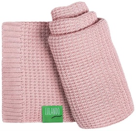 Lulando Bamboo Baby Blanket Pink 80x100cm