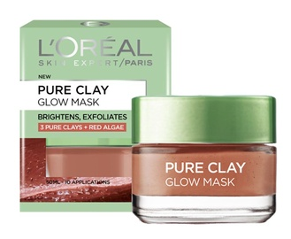 L´Oreal Paris Pure Clay Glow Face Mask 50ml