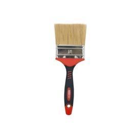 HausHalt Flat Brush RJ3348 Natural Black/Red 76mm