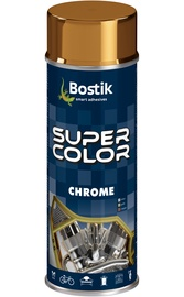 Aerososoolvärv Bostik Super Color Chrome kuldne 400ml