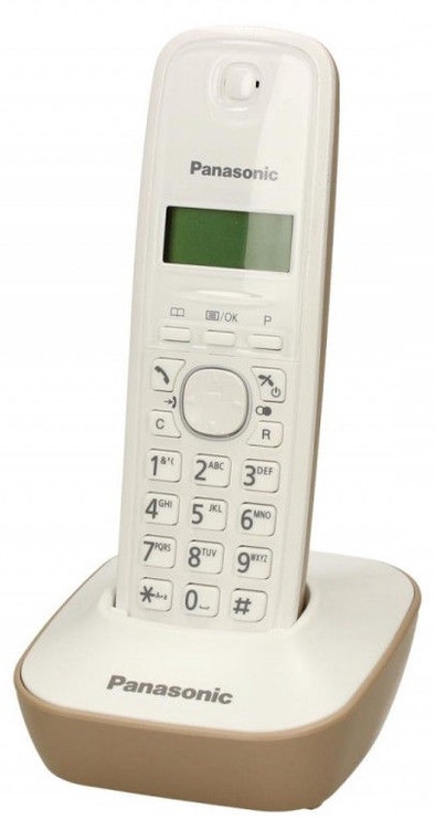 Panasonic KX-TG1611PDJ White/Gold