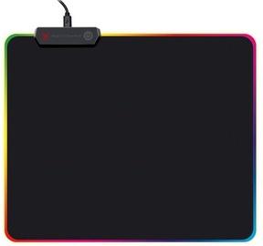 Omega Varr Pro LED Mouse Pad Black