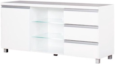 TV galds Bodzio Aga AG16 White, 1380x425x660 mm