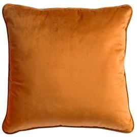 Декоративная подушка Home4you Velvet, коричневый, 450 мм x 450 мм