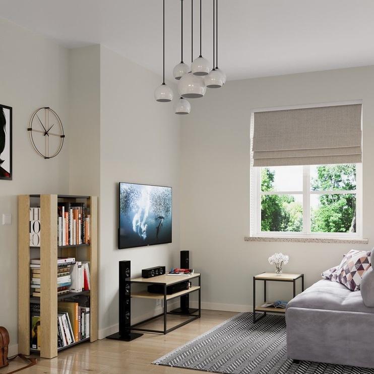 Kafijas galdiņš Homede Pjan, valriekstu, 800x400x450 mm