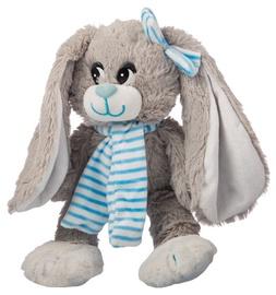 Axiom Rabbit Nina Grey With Blue Scarf 30cm