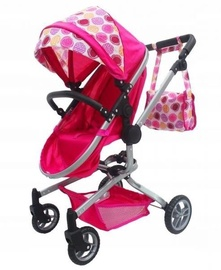 EcoToys Dolls Stroller Pink 759