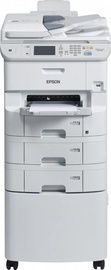 Multifunktsionaalne printer Epson Workforce Pro WF-6590D2TWFC, tindiga, värviline