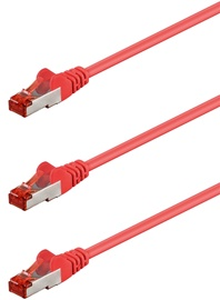 Goobay CAT 6 S/FTP PiMF Patch Cable 0.5m Red