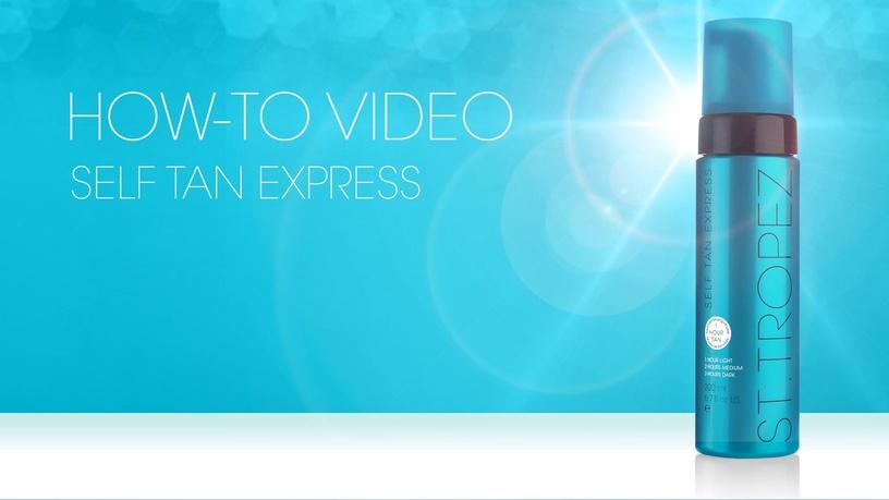 St. Tropez Self Tan Express Advanced Bronzing Mousse 200ml