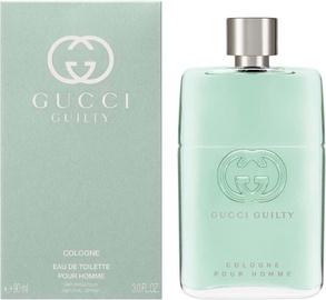 Туалетная вода Gucci Guilty Pour Homme Cologne 90ml EDT