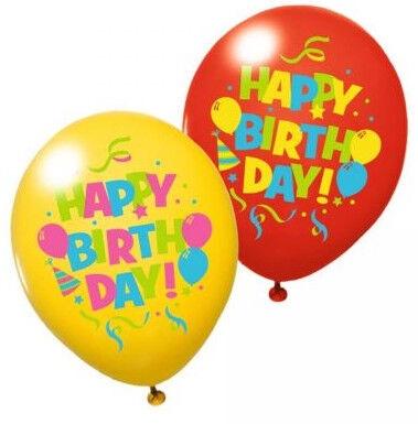 Herlitz Happy Birthday Balloons 100cm 6pcs