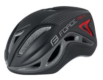 Шлем Force Rex F902854, черный/серый, S/M, 560 - 580 мм