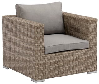 Садовый стул Masterjero, коричневый/серый, 65x84x84 см