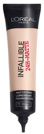 L´Oreal Paris Infallible 24h Matte Foundation 35ml 11