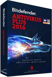 Bitdefender Antivirus Plus 2Y 1U Electronic Licence
