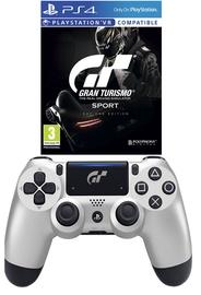 Sony Gran Turismo Sport DualShock 4 Controller + Gran Turismo Sport