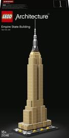 Konstruktor LEGO Architecture Empire State Building 21046, 1767 tk
