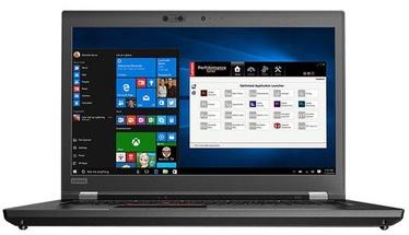 Nešiojamas kompiuteris Lenovo ThinkPad P1 Black 20MD000QMH