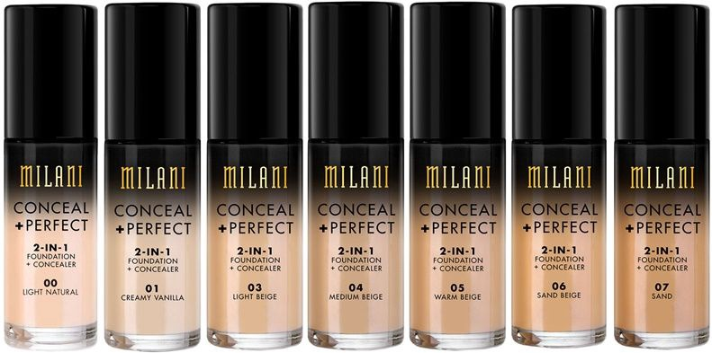 Milani Conceal + Perfect 2in1 Foundation + Concealer 30ml 05