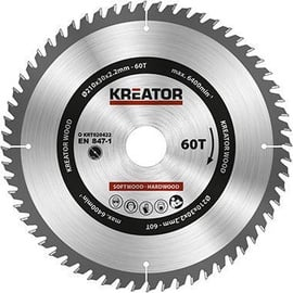 Kreator Sawblade 210x30x2.2mm 60T