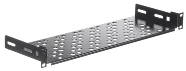 Riiul Netrack Equipment Shelf 19'' 1U/150mm Black