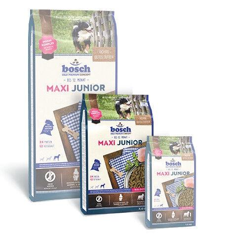 Сухой корм для собак Bosch PetFood Maxi Junior, 3 кг