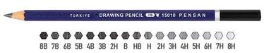 Pensan Drawing Pencil 15010 PE106H 6H