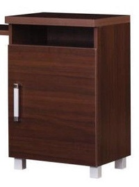 Bodzio Amadis Dressing Table Right Walnut